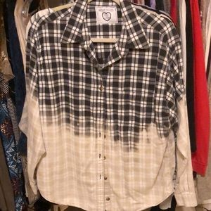 Tops - Half Bleached Flannel